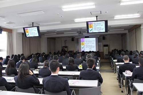約100名の生徒さんが参加!